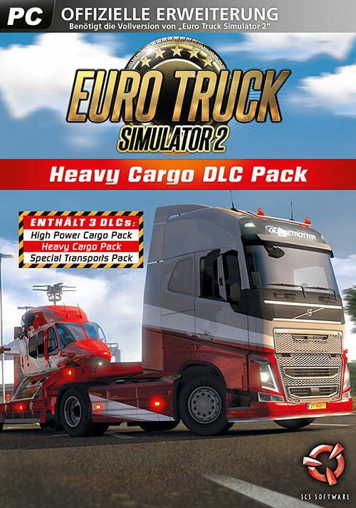 Euro Truck Simulator 2 Heavy Cargo DLC Bundle