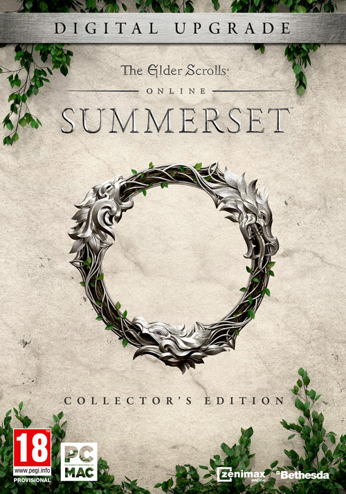 The Elder Scrolls Online Summerset Digital Collectors Upgrade