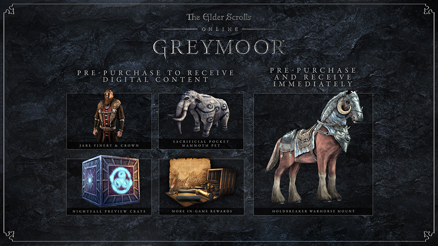The Elder Scrolls Online: Greymoor Digital Upgrade