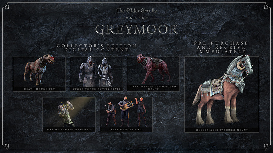 The Elder Scrolls Online: Greymoor Digital Collector's Edition Upgrade
