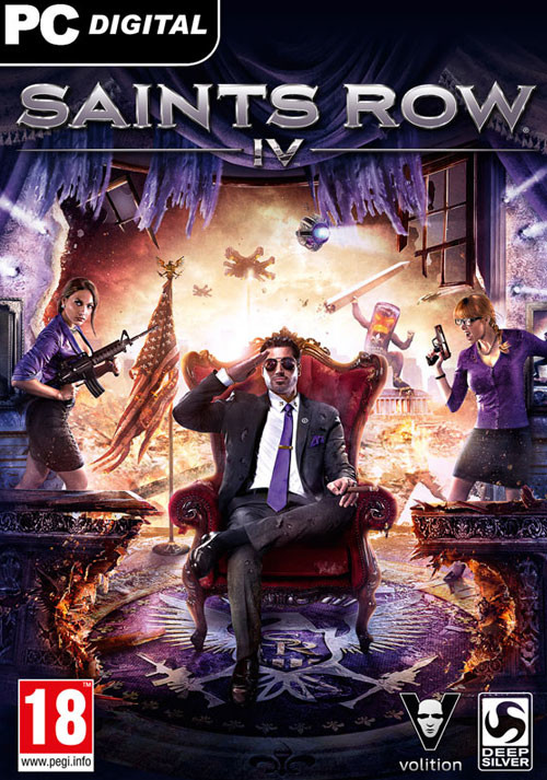 Saints Row 4 100% Uncut