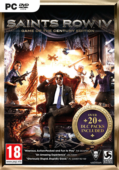 Saints Row IV Game of the Century Edition (PC)