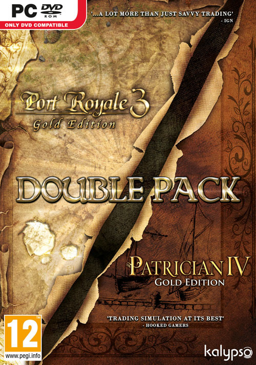 Port Royale 3: GOLD + Patrizier IV: GOLD - Double Pack (PC)