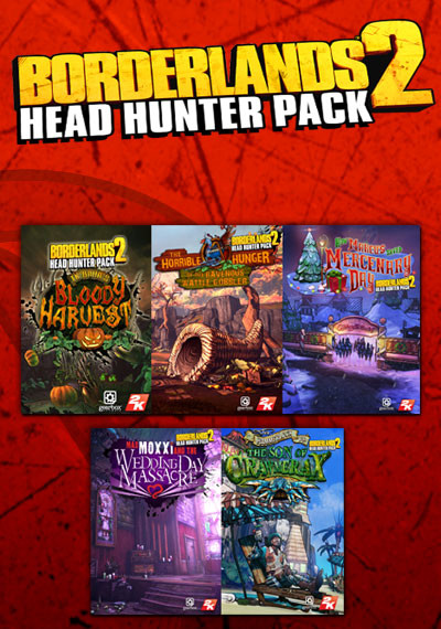 Borderlands 2 Headhunter Pack