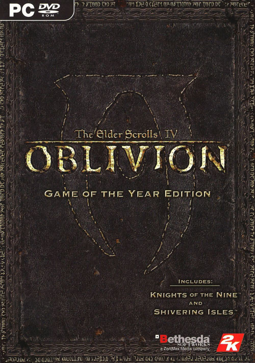 The Elder Scrolls 4 Oblivion GOTY Edition
