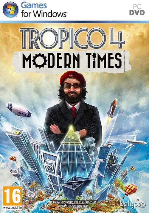 Tropico 4 Modern Times DLC