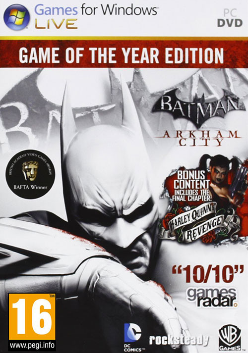 Batman Arkham City GOTY