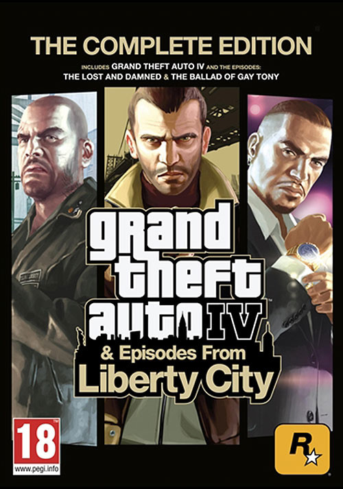 Grand Theft Auto IV: Complete Edition (PC)