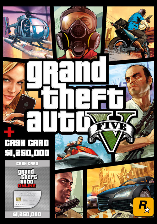 Grand Theft Auto V & Great White Shark Cash Card