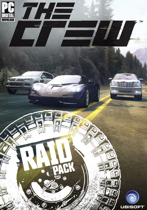 The Crew Raid Car Pack DLC 5