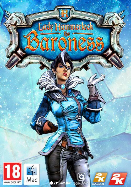 Borderlands The PreSequel Lady Hammerlock Pack DLC