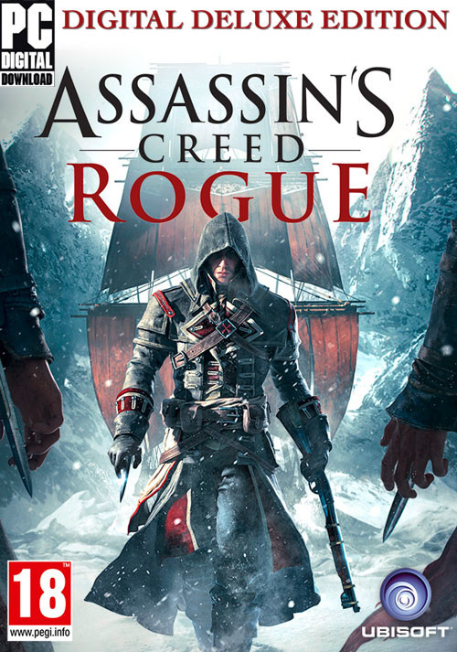 Assassin's Creed Rogue Deluxe Edition (PC) bei Gamesplanet.de günstig kaufen