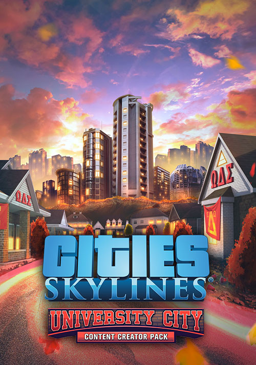 Cities: Skylines - Content Creator Pack: University City (PC)