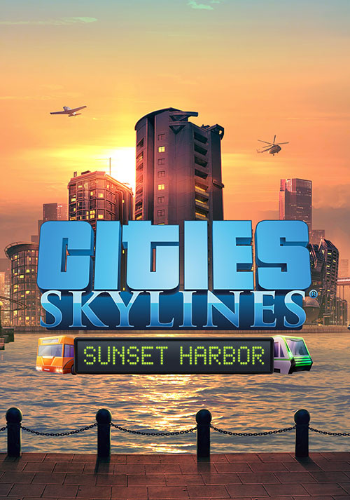 Cities: Skylines - Sunset Harbor (PC)