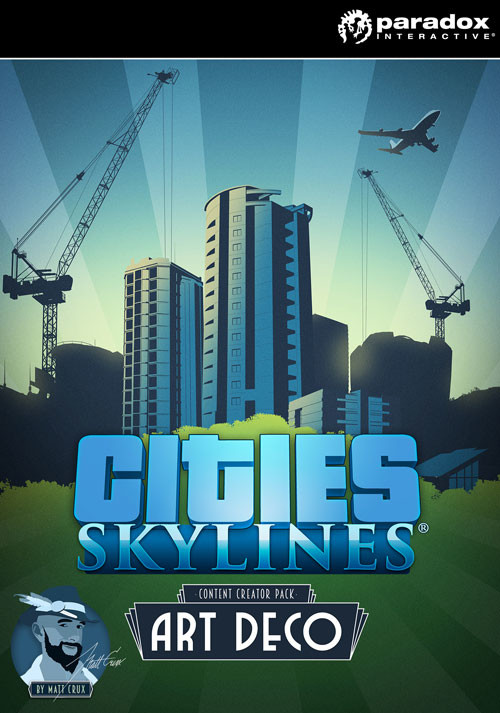 Cities Skylines Content Creator Pack Art Deco