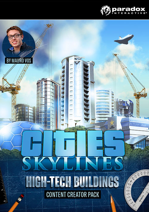 Cities Skylines Content Creator Pack HighTech Buildings