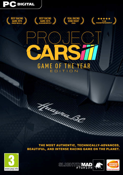 Project CARS: Game Of The Year Edition (PC) bei Gamesplanet.de günstig kaufen