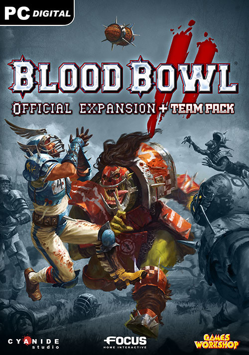 Blood Bowl 2 Official Expansion + Team Pack