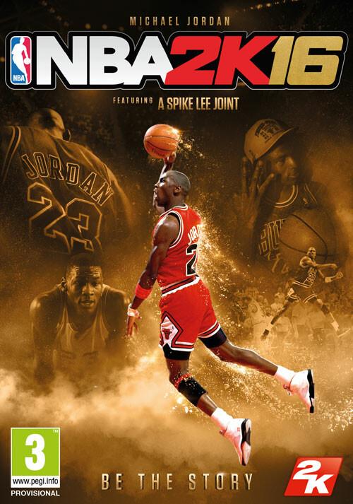 NBA 2K16 Michael Jordan Special Edition