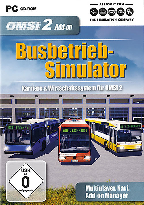 OMSI 2 Add-on Busbetrieb-Simulator (PC)