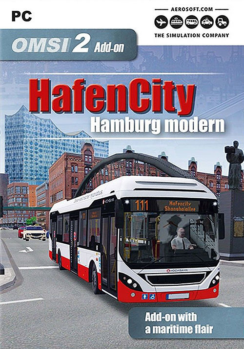 OMSI 2 Add-On HafenCity - Hamburg modern (PC)