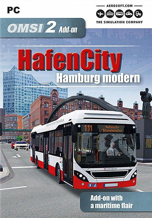 OMSI 2 Addon HafenCity Hamburg modern