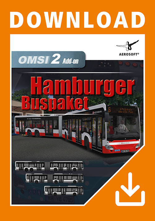 OMSI 2 Add-on Hamburger Buspaket (PC)