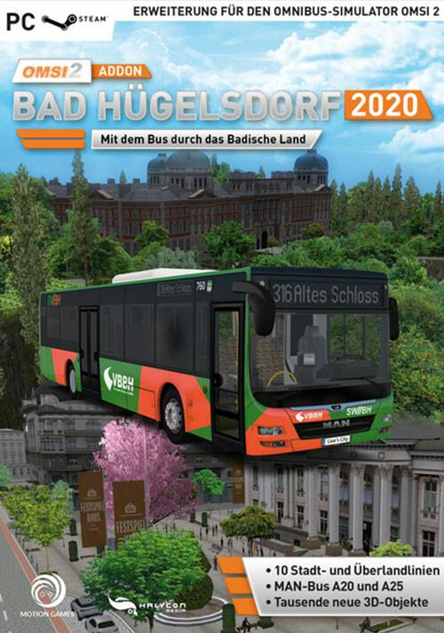 OMSI 2 Add-on Bad Hügelsdorf 2020 (PC)