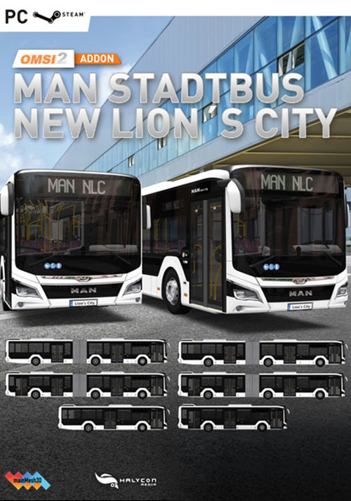 OMSI 2 Add-on MAN Stadtbus New Lions City (PC)