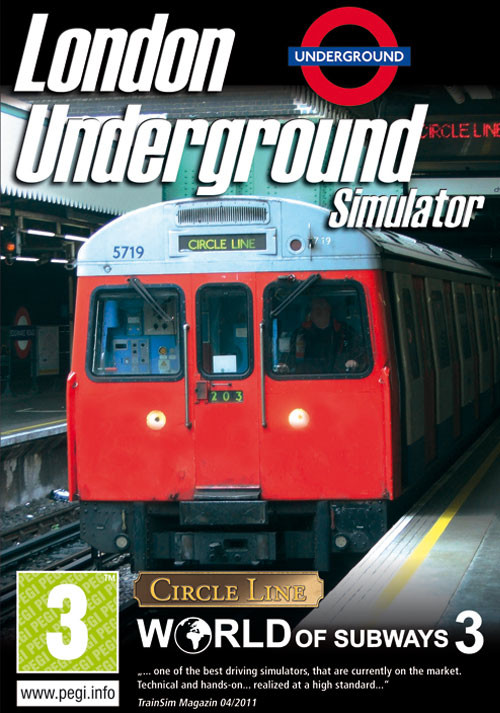 World of Subways 3  London Underground Circle Line