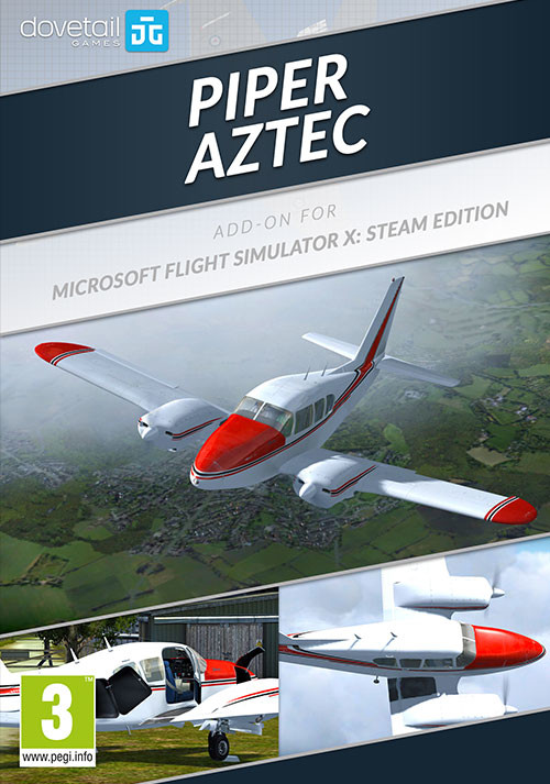 Microsoft Flight Simulator X Steam Edition Piper Aztec AddOn