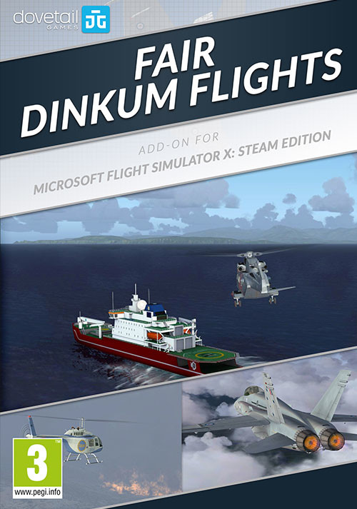 Microsoft Flight Simulator X Steam Edition Fair Dinkum Flights AddOn