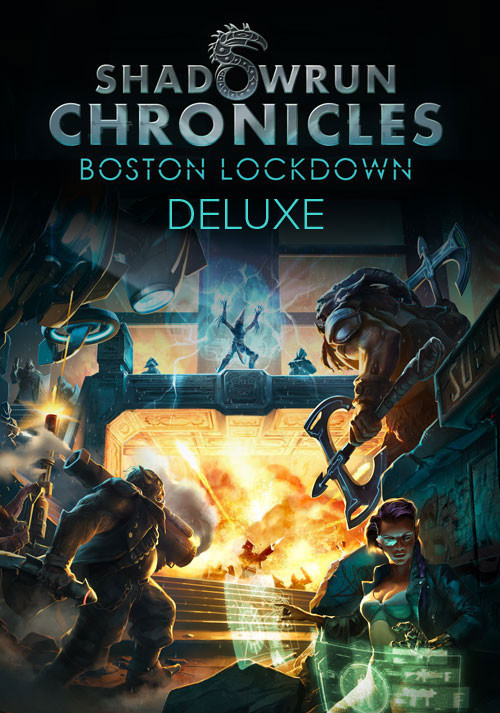 Shadowrun Chronicles Boston Lockdown Deluxe