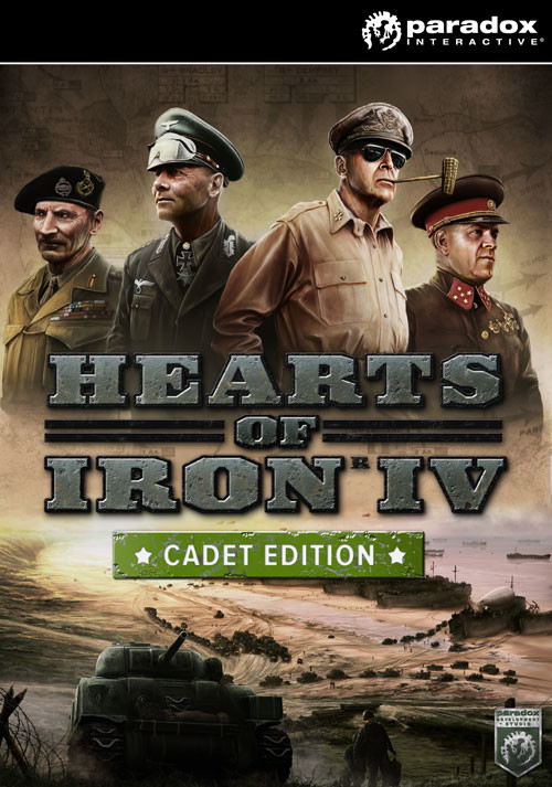Hearts of Iron IV: Cadet Edition (PC) bei Gamesplanet.de günstig kaufen