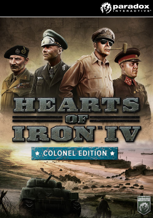 Hearts of Iron IV: Colonel Edition (PC) bei Gamesplanet.de günstig kaufen