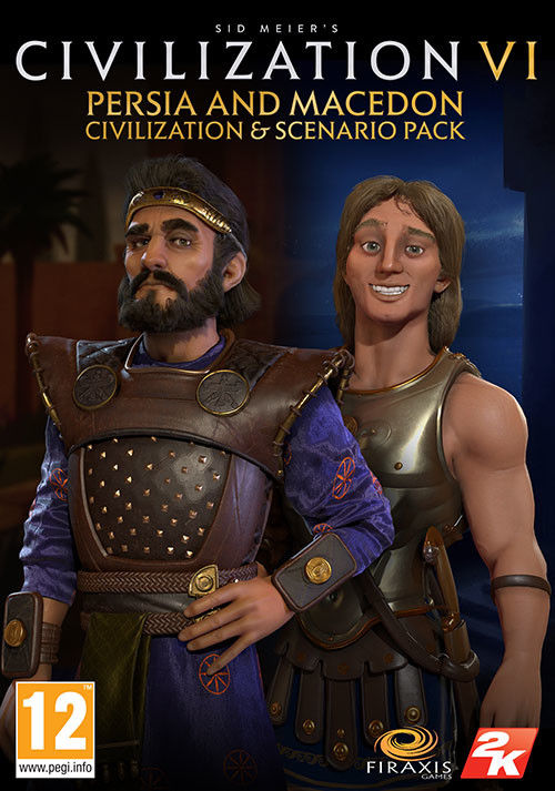 Sid Meier's Civilization 6 Persia and Macedon Civilization & Scenario Pack