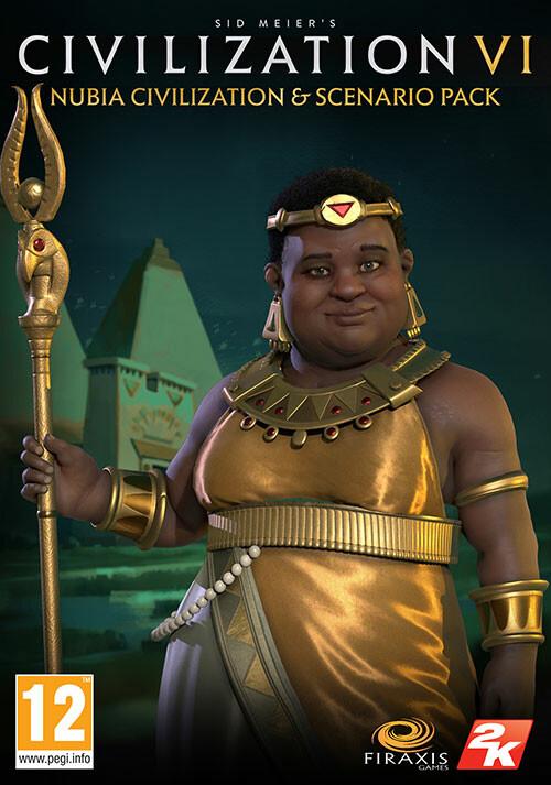 Sid Meiers Civilization 6 Nubia Civilization & Scenario Pack
