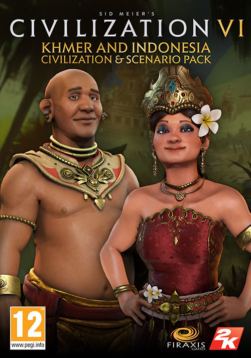 Sid Meiers Civilization 6 Khmer and Indonesia Civilization & Scenario Pack