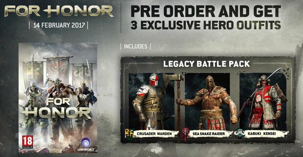 Bestelle deinen For Honor Key jetzt auf Gamesplanet.com vor, um das ...