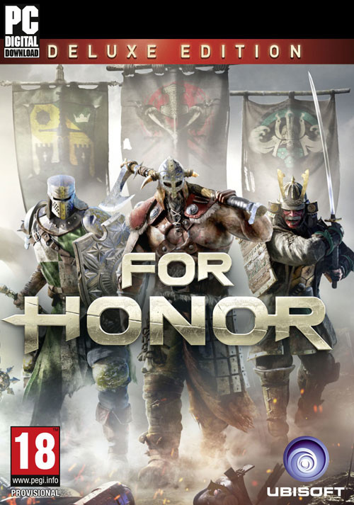 For Honor Deluxe Edition (PC) bei Gamesplanet.de günstig kaufen
