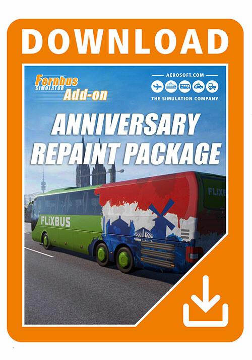 Fernbus Simulator Anniversary Repaint Package