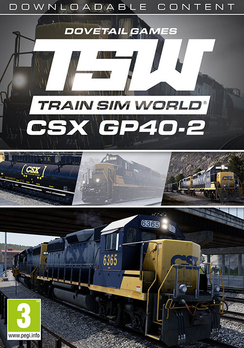 Train Sim World CSX GP402 Loco AddOn