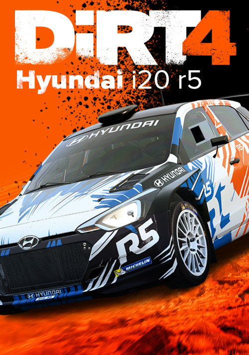 DiRT 4 Hyundai i20 r5