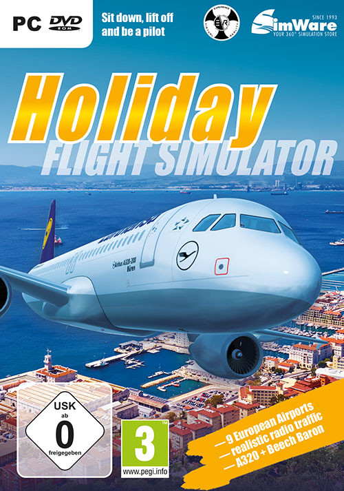 Urlaubsflug Simulator Holiday Flight Simulator