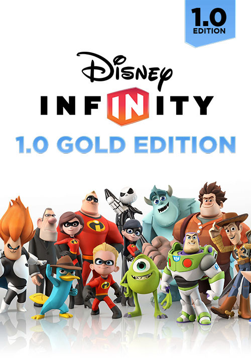 Disney Infinity 1.0 Gold Edition