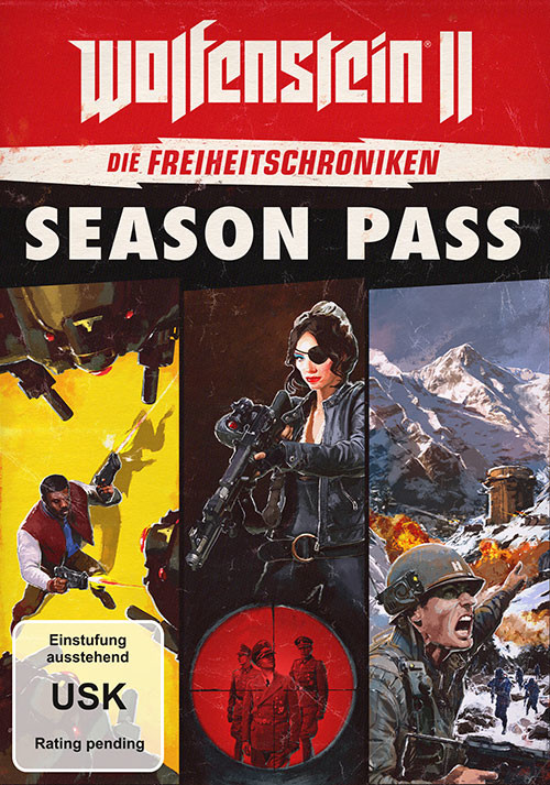 Wolfenstein 2 The Freedom Chronicles Season Pass