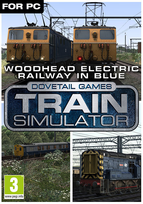 Train Simulator Woodhead Electric Railway in Blue Route AddOn