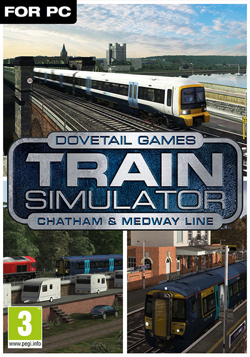 Train Simulator Chatham Main & Medway Valley Lines Route AddOn