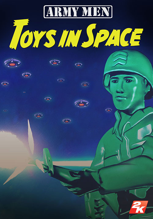 Army Men Toys in Space
