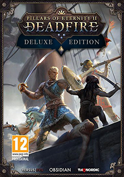 Pillars of Eternity 2 Deadfire Deluxe Edition